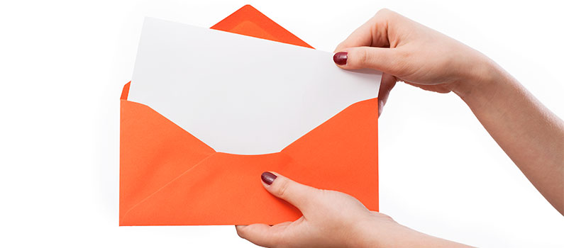 Det stoflige ved et fysisk brev kan differentiere dig fra konkurrenten