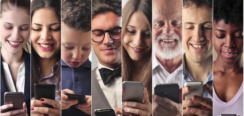 flere og flere bruger deres telefon som opslagsværk